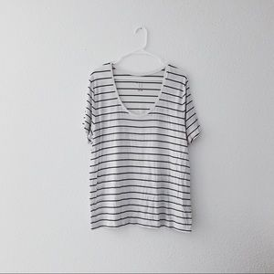 Slouchy striped Tee